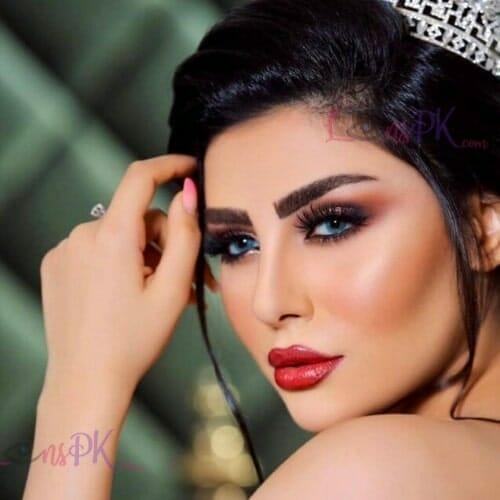 Buy Dahab Tiffany Blue Contact Lenses in Pakistan – Gold Collection - lenspk.com