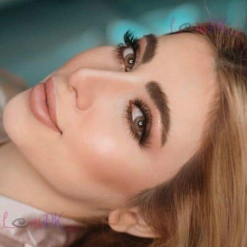 Buy Dahab Cat Eye Contact Lenses in Pakistan – Gold Collection- lenspk.com