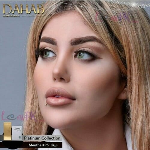 Buy Dahab Platinum Contact Lenses in Pakistan – Mentha – Monthly - lenspk.com