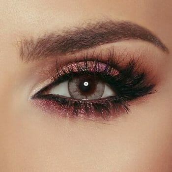 Buy Bella Caramel Gray Contact Lenses - Glow Collection - lenspk.com