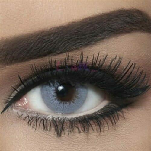 Buy Bella Gray Shadow Contact Lenses - Diamond Collection - lenspk.com