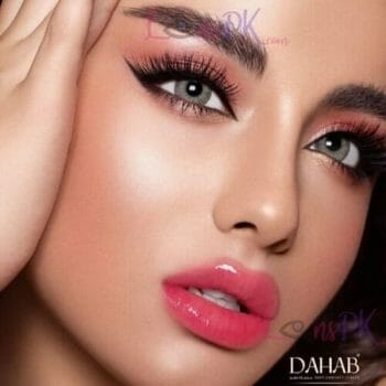 Buy Dahab Gold Contact Lensesin Pakistan – Sabrin Gray Green – Monthly - lenspk.com