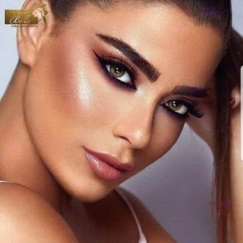 Buy Bella Silky Gold Contact Lenses in Pakistan – Elite Collection - lenspk.com