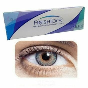 Buy Freshlook Green Contact Lenses - One-Day - lenspk.com