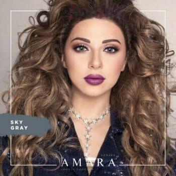 Buy Amara Sky Gray Eye Contact Lenses in Pakistan @ Lenspk.com