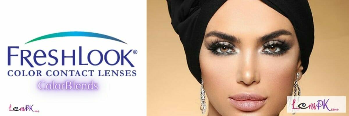 Freshlook ColorBlends Contact Lenses in Pakistan