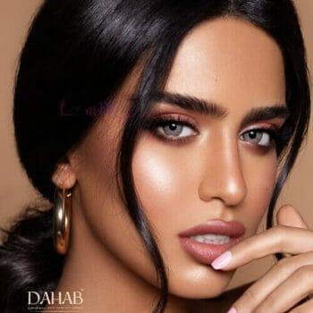 Buy Dahab Lumirere Hazel Contact Lenses - Gold Collection - lenspk.com