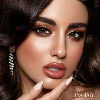 Buy Dahab Lumirere Diamond Contact Lenses - Gold Collection - lenspk.com
