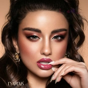 Buy Dahab Sabrin Soul Contact Lenses - Gold Collection - lenspk.com