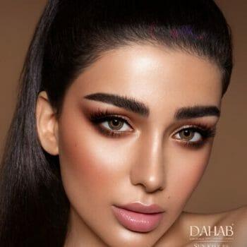 Buy Dahab Sun Kiss Contact Lenses - Gold Collection - lenspk.com