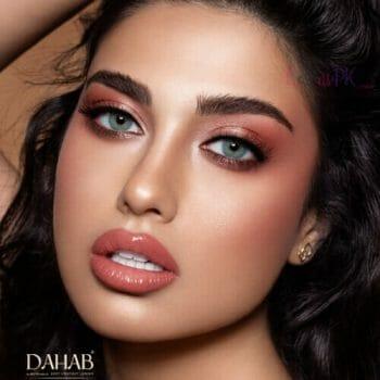 Buy Dahab Tiffany Blue Contact Lenses - Gold Collection - lenspk.com