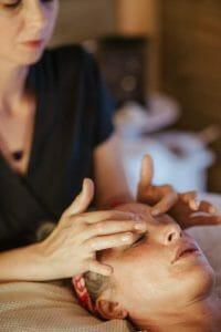 The 5 step eye massage