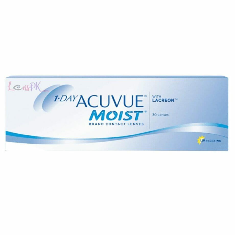 Acuvue Moist 1-Day Lenses By Johnson & Johnson