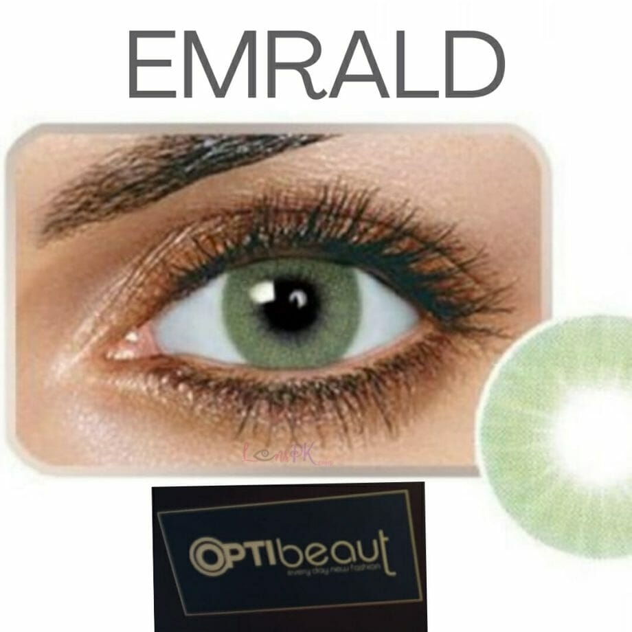 Optibeaut Emerald Hidrocor Lenses